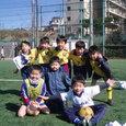 優勝したKSS幼稚園・一年生チーム